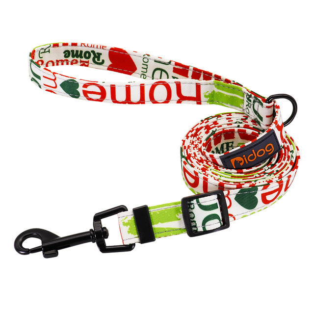 Fashion Adjustable Nylon Dog Leash