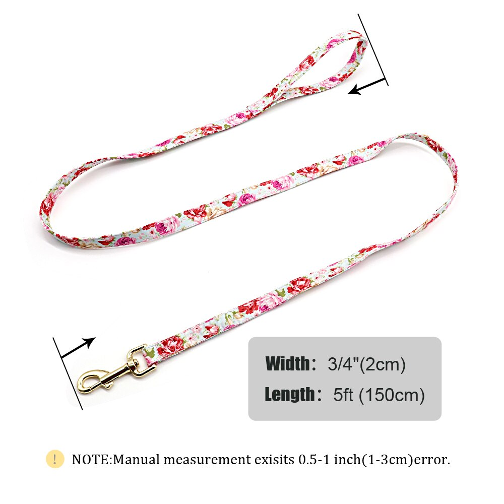 Lovely Print Dog Leash