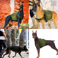 Make Me A Warrior Military Tactical Dog Harness