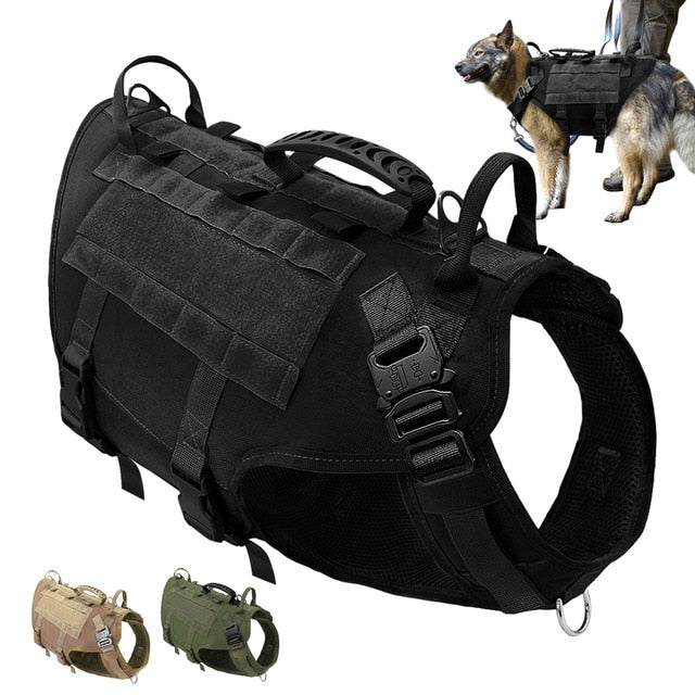 What Can I Do Sir - Military Tactical Dog Harness
