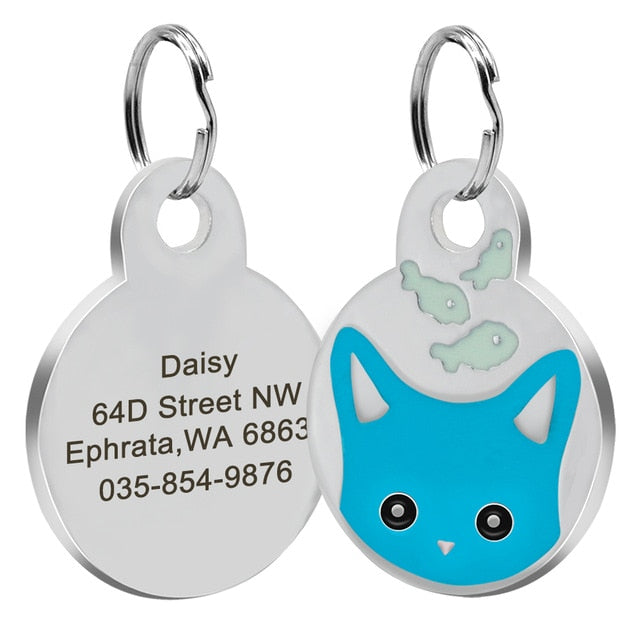 Personalized Round Tag