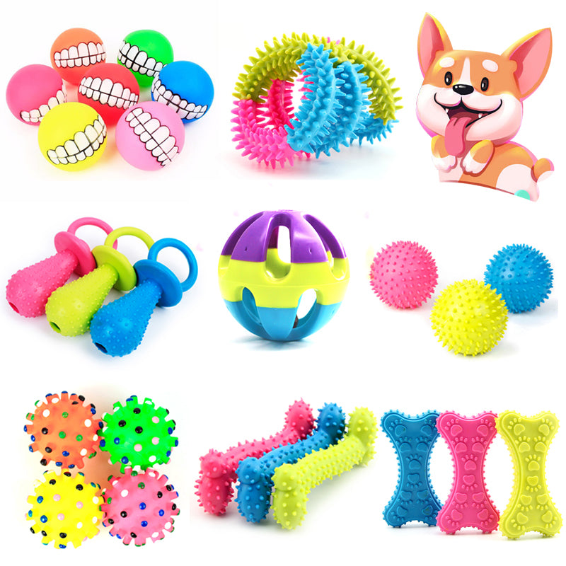 ✨ Colorful Funny Interactive Chew Toys For Your Funny Dog