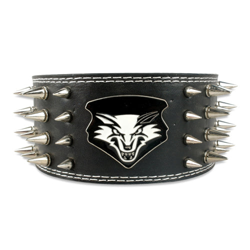 Release My Wolf Spiked Collar