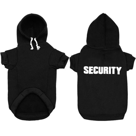 Security At Home Hoodie On