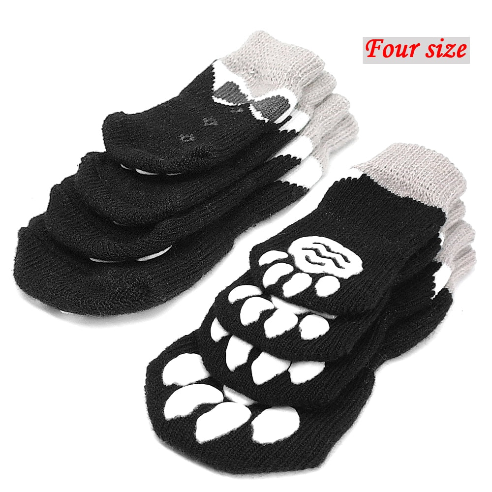 Super Anti-Slip Cotton Knitted Socks