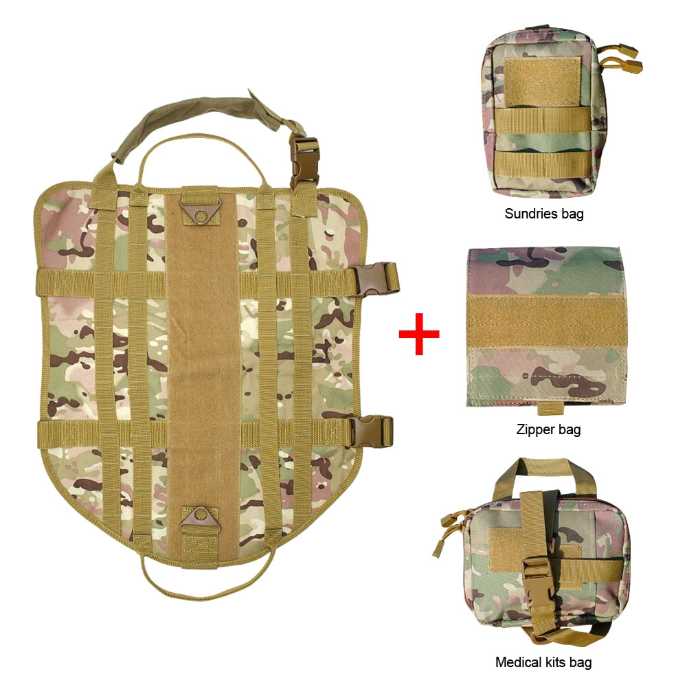 Action Tactical Harness Coyote Brown