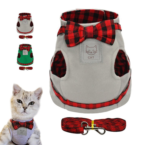 Gentlemen Cat Harness Leash Set