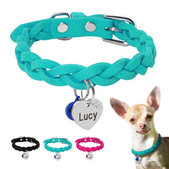 Lucy Collar Tag Set