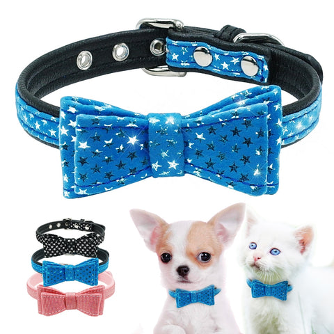 Bowknot Collar For Dog & Cat