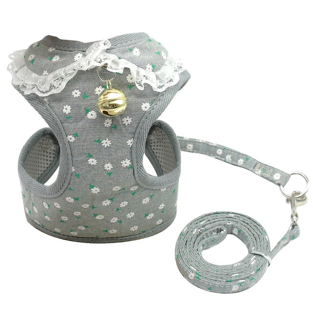For The Cutest One Dog Harness Vest and Leash Set