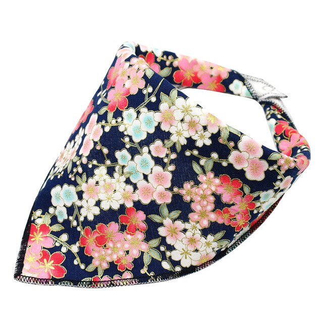 Print Flower Pet Collar