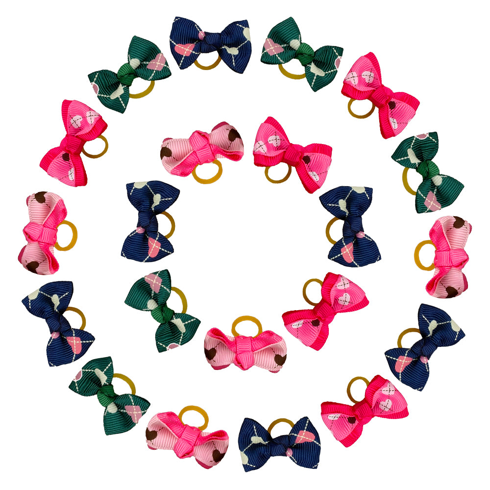 50/100pcs Bowknot Hair Bows