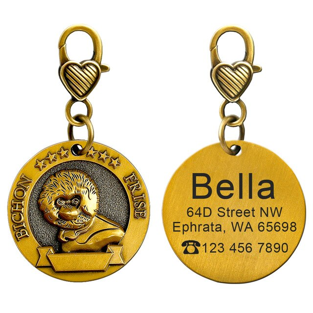 Collectible Personalized ID Tag