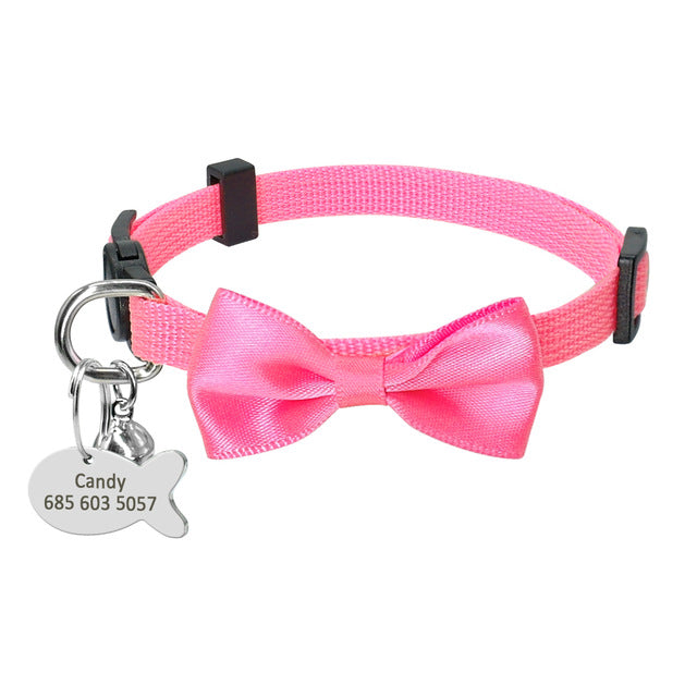 Quick Release Personalized Collar