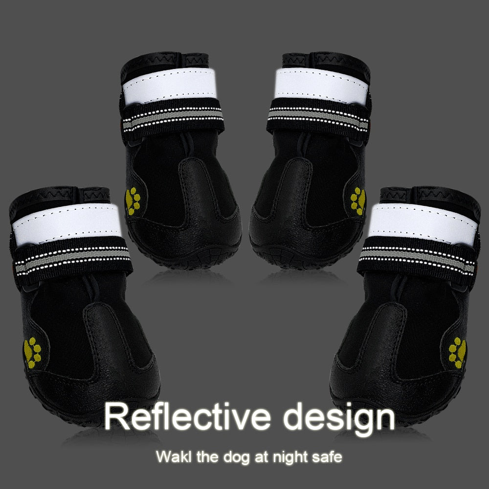 Is This Mind! Non-Slip Reflective Boots