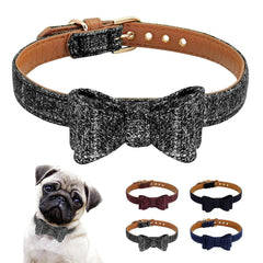 Family Welcome Leather Collar
