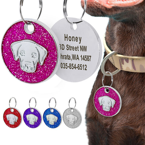 Dog Tag Engraved ID Tag