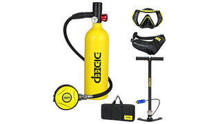 Dideep 1l scuba diving air tanks