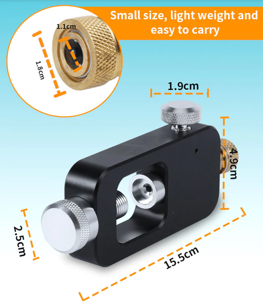 Air Adapter for Smaco Diving Tank Gear