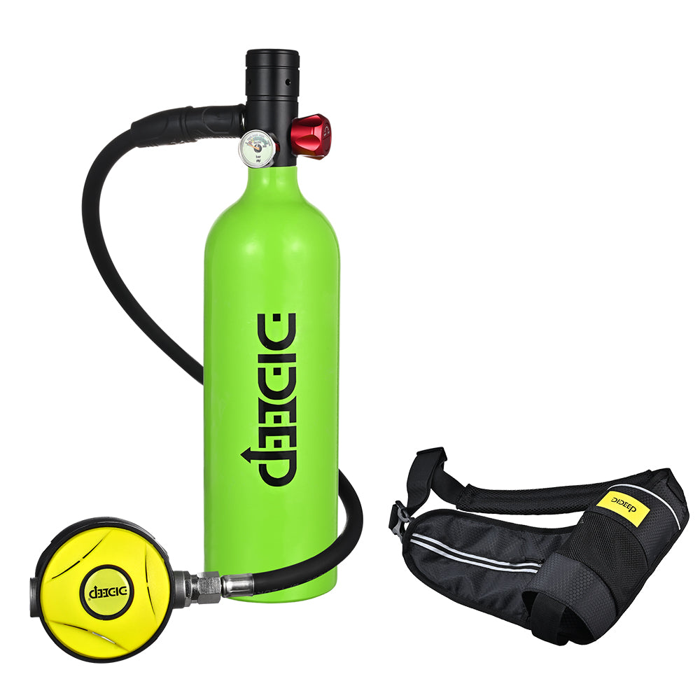 Dideep 1L Underwater Air Tank with Bag