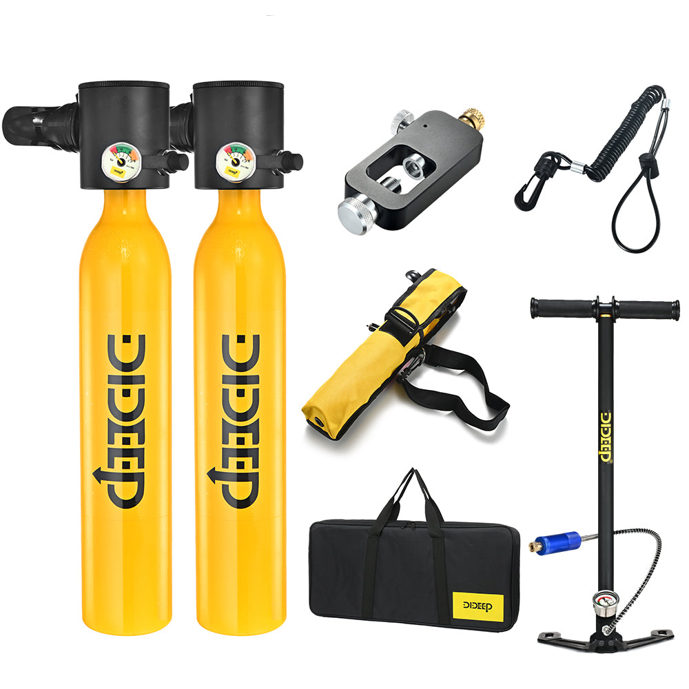 Dideep 0.5L Scuba Diving Cylinder Kit