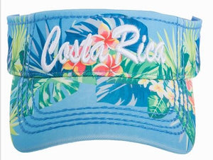 Visera Tropical Azul