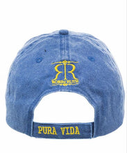 Load image into Gallery viewer, Gorra Azul Logo Amarillo