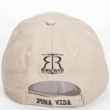 Load image into Gallery viewer, Gorra Beige Logo Azul