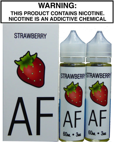 Juicy American Flavors Strawberry 120ml