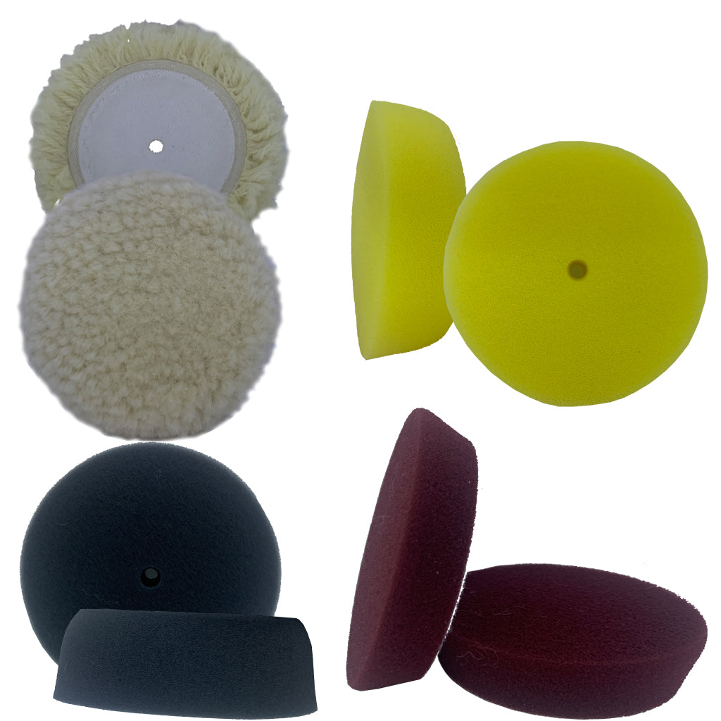 "CSI 62-335 - 8 piece 3"" buffing pad kit"