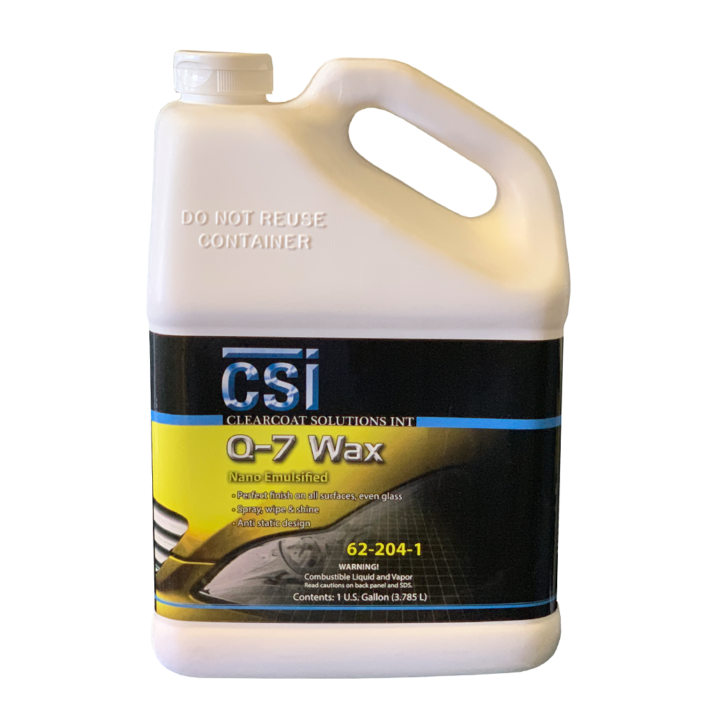 CSI 62-204-1 Q-7 Wax Spray car Wax (1 gallon)