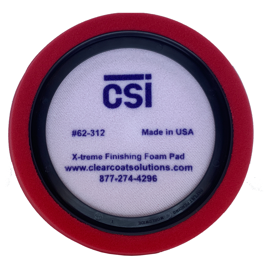 CSI 62-312 X-Treme Red Finishing Pad