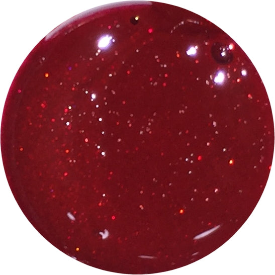 Red Carpet glitter - Gel Uv polish F207