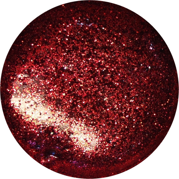 Red glitter - Unghie Mania UV gel polish G119