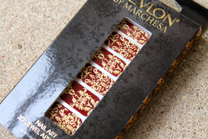 Nail patch Revlon by Marchesa - Royal Burgundy