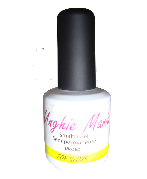 Top Gloss Smalto gel - Unghie Mania