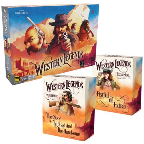 WESTERN LEGENDS PACK - EN