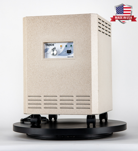 photo of an air purifier cleaner for dentists and dental offices equipped with uv-c and hepa technology