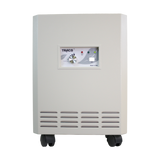photo of a tracs air purifier white color
