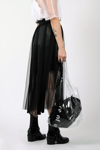 Large Transparent Shopper Bag