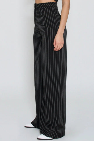 Moss Striped Trousers
