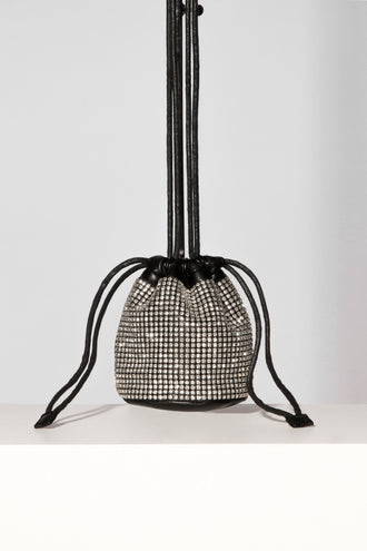 Chrystal Bucket Mobile Bag