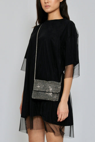 Black Envelope Mobile Bag