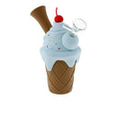 "7"" ICE CREAM SILICONE WATER PIPE"