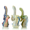 "8"" Ponytail Marble Color Bubbler Approx 255 Grams"