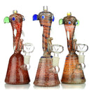 "8.5"" Elephant Head Design Water Pipe 14mm Male Bowl Included Approx 235 Grams"