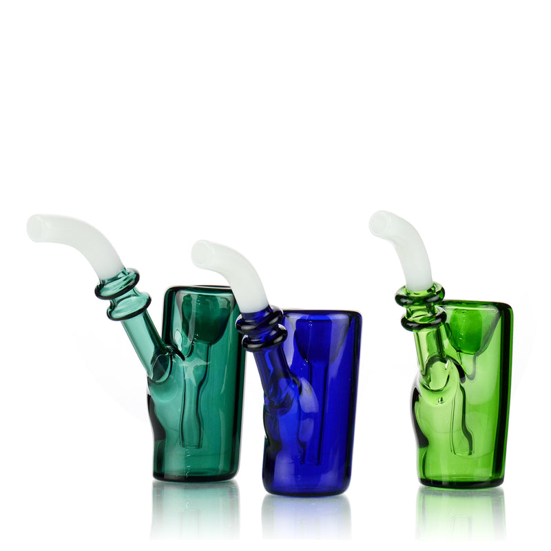 "5"" Sherlock Style Color Tube Bubbler Approx 110 Grams"
