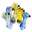 "2.5"" Hand Pipe Multi Color Frit Approx 60 Grams"