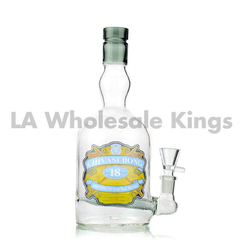 9 Water Pipe Liquor Bottle 14Mm Male Bowl Included Approx 360 Grams Bong