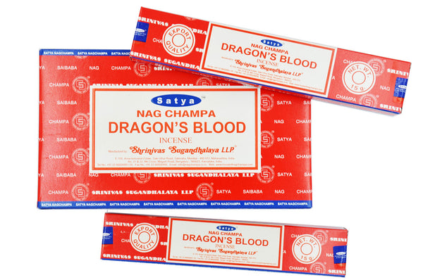 DRAGON BLOOD SATYA NAG CHAMPA INCENSE